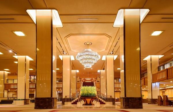 帝国ホテルメインロビー