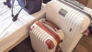 チェックアウトでホテル客室から荷物を簡単に運ぶ方法【時間短縮】【バゲージダウン】